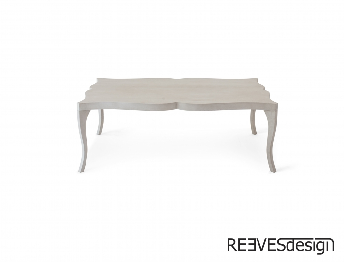 Victoria Coffee Table Front White Wash Oak